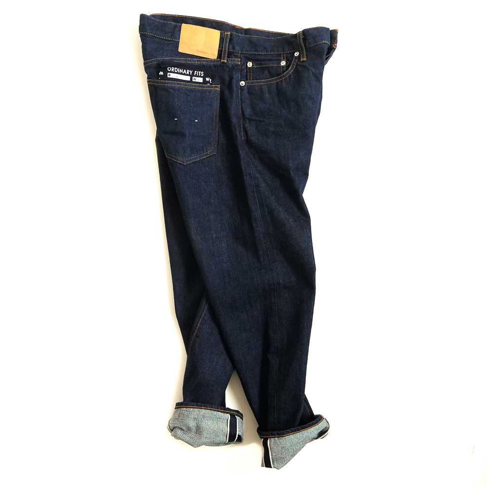 [Ordinary Fits]  (RESTOCK)  5P Ankle Denim One Wash OM-P020
