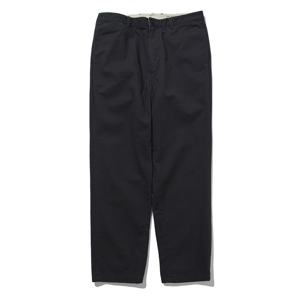 [Pottery]  Washed Tapered Pants KAYANU Cotton Vintage Chino Cloth Washer Finish Charcoal
