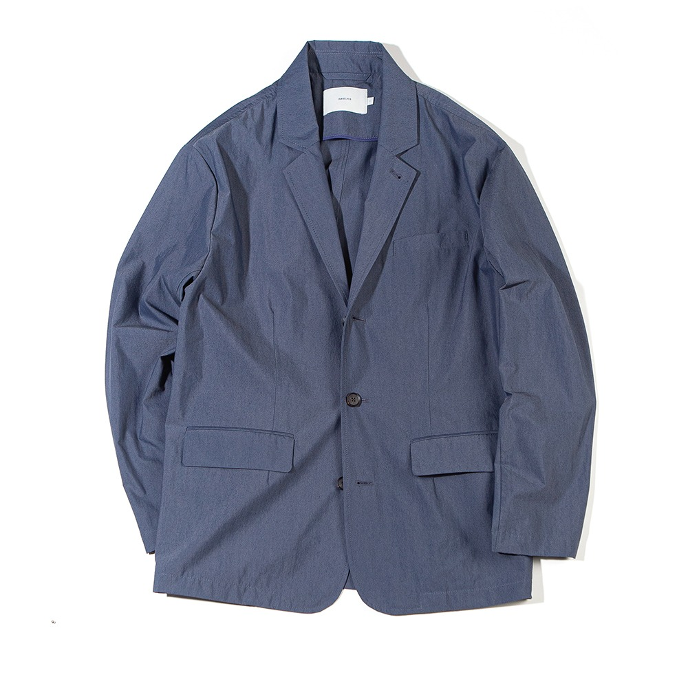 [Ourselves]  High Density Typewriter Slumber Jacket Indigo Navy
