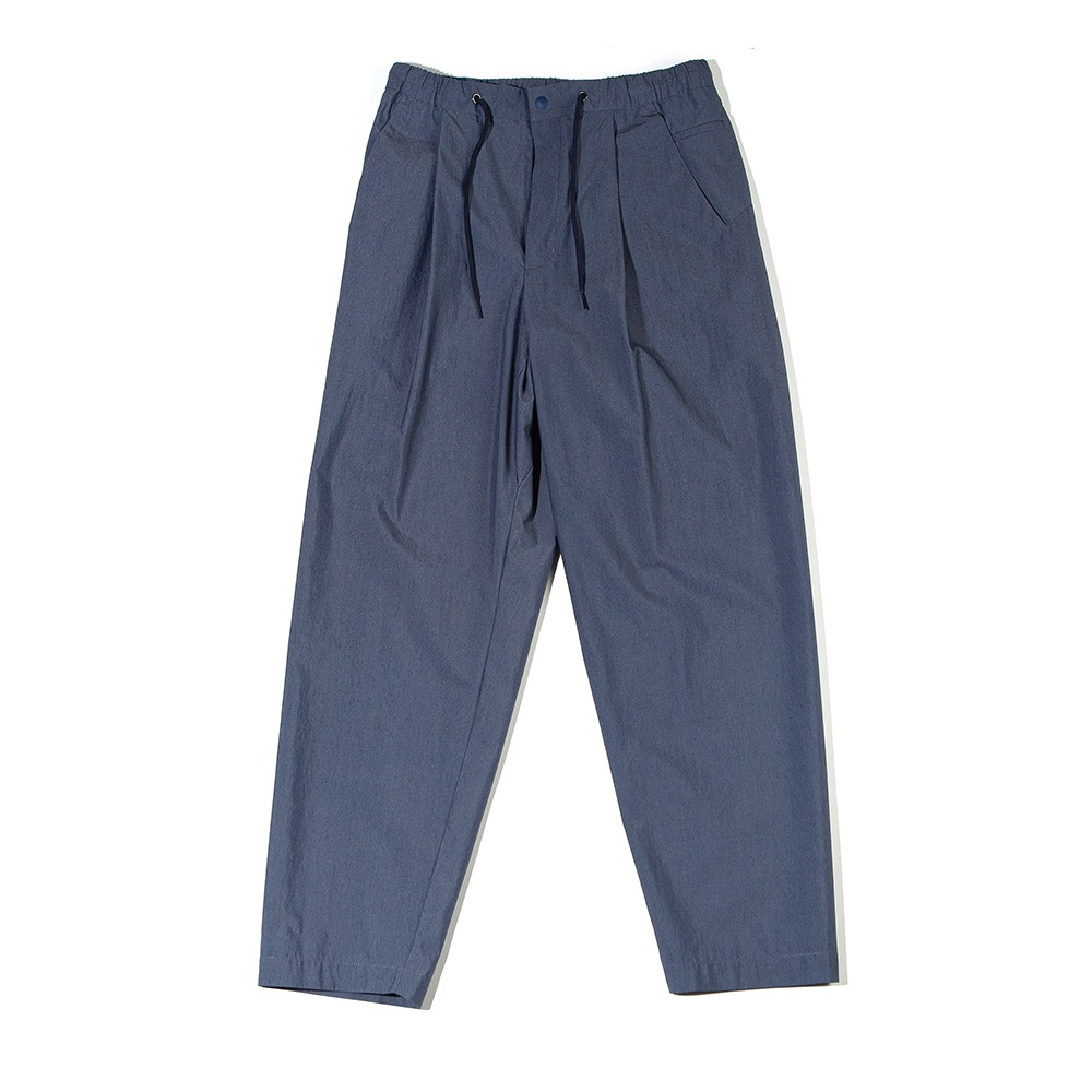 [Ourselves]  High Density Typewriter Slumber Pants Indigo Navy
